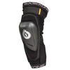 SixSixOne Rage Hard Knee Guard black